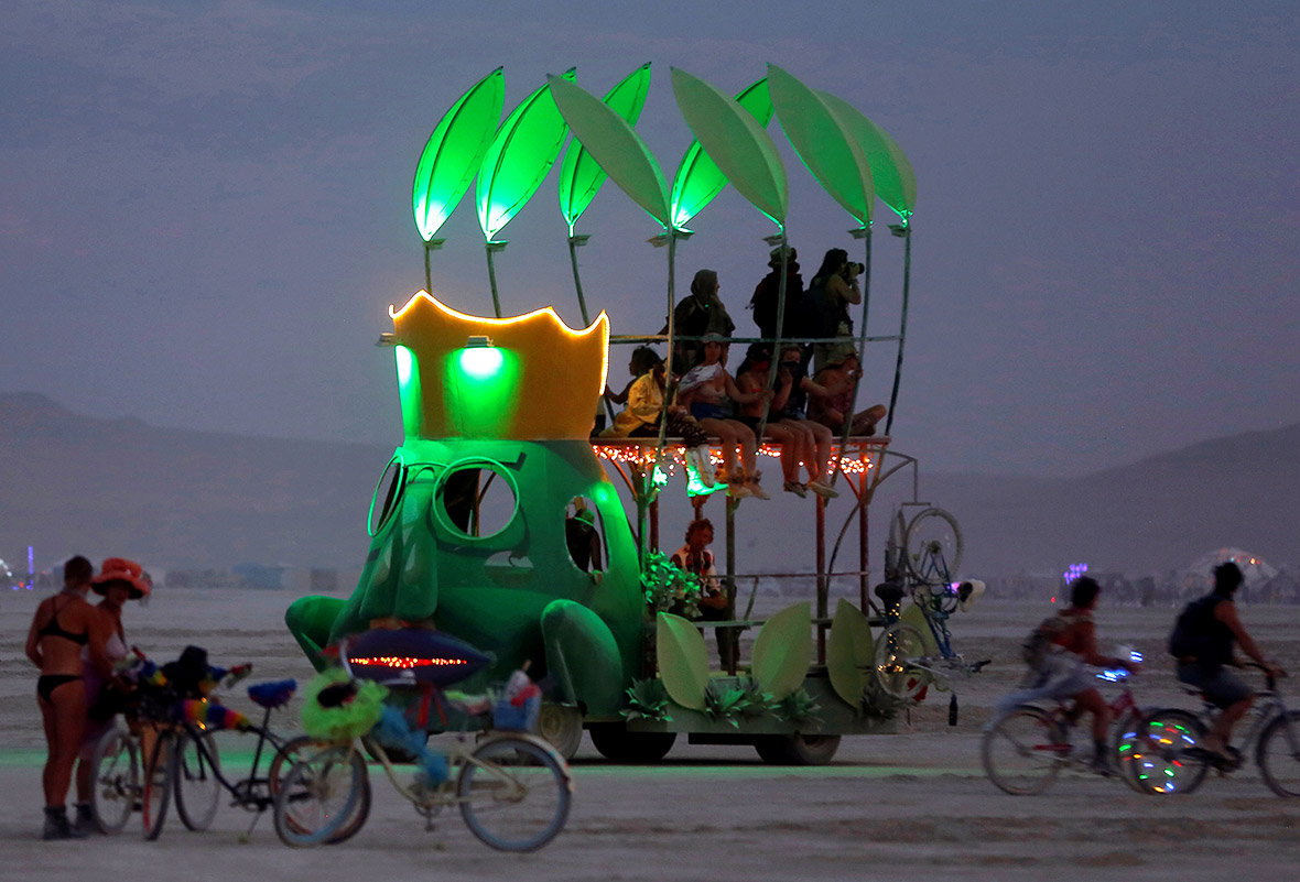 Burning Man festival 2016