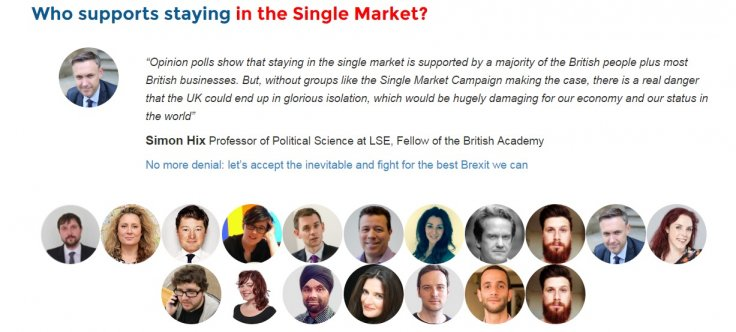 Save the Single Market Campaign