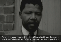Nelson Mandela's first ever television appearance revealed