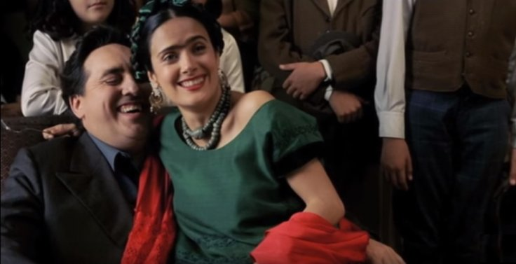 Salma Hayek and Alfred Molina in Frida