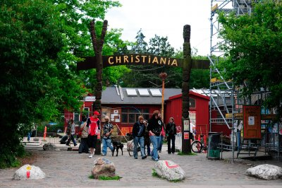 Christiania Copenhagen Pusher Street