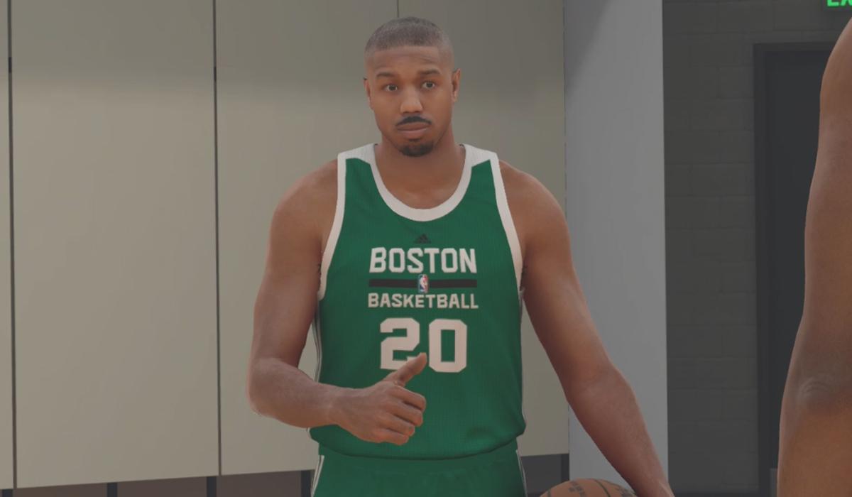 NBA 2K17 Michael B Jordan
