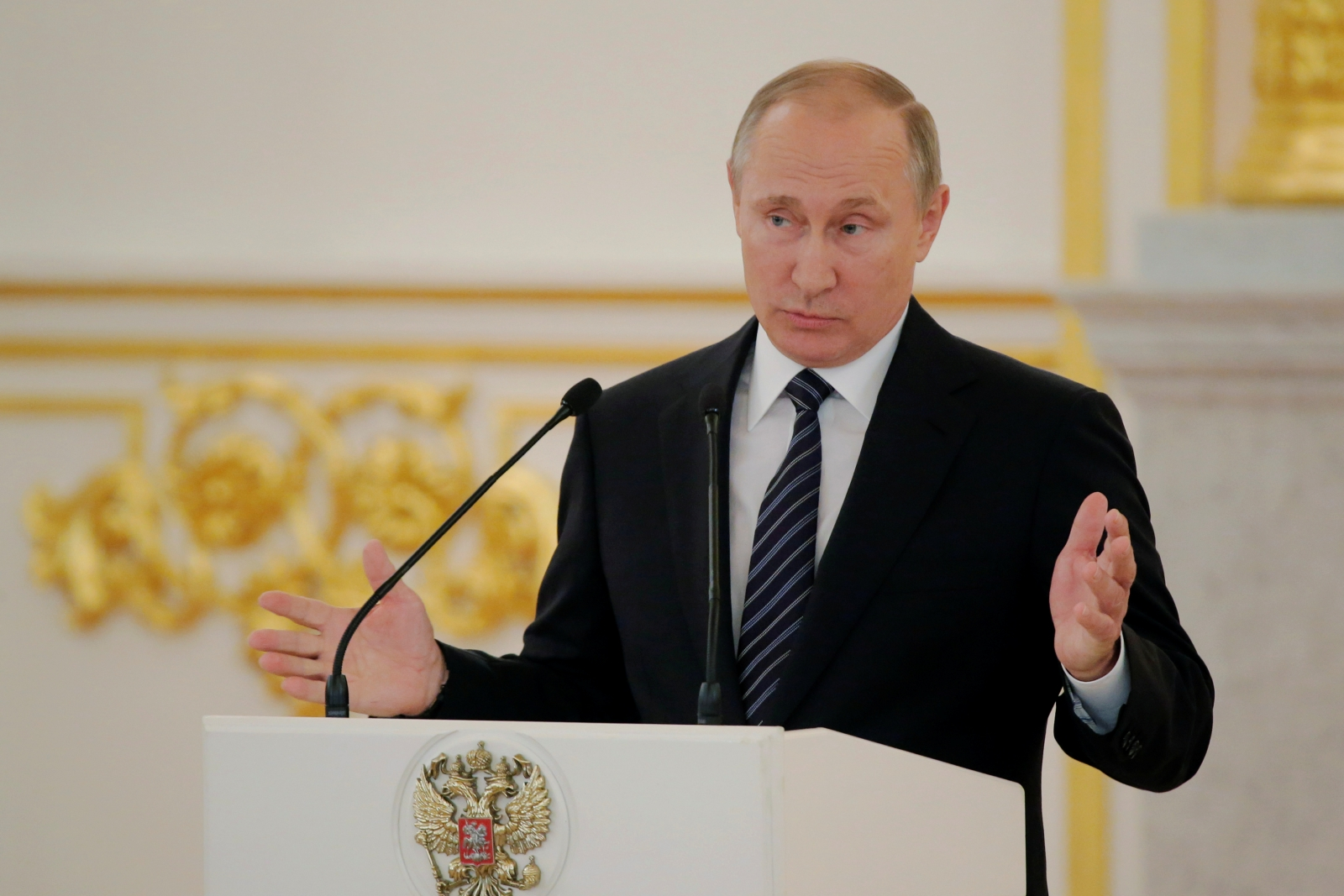 Putin on DNC hack: 'Does it even matter who hacked this data?'