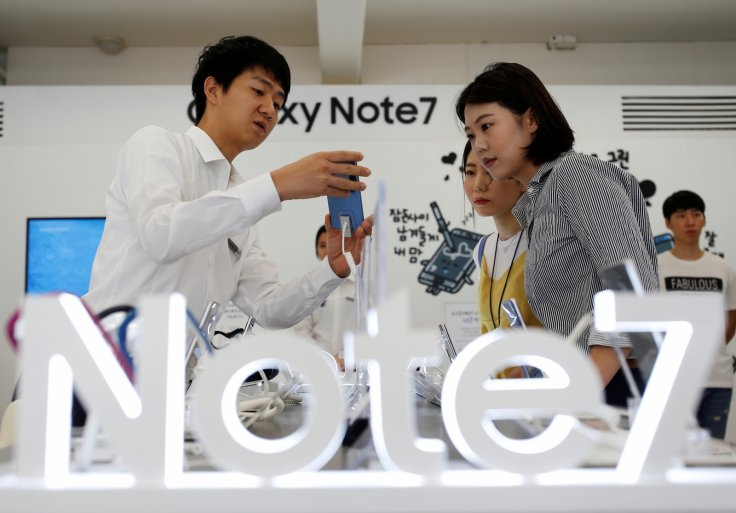 Galaxy Note 7 Product Exchange Program