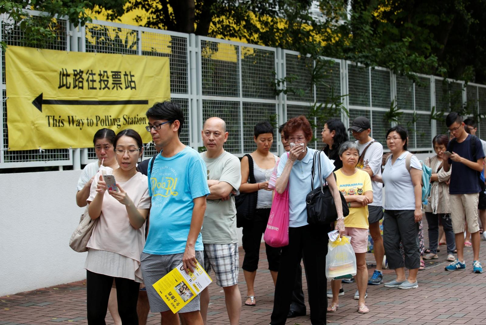 Hong Kong elections China