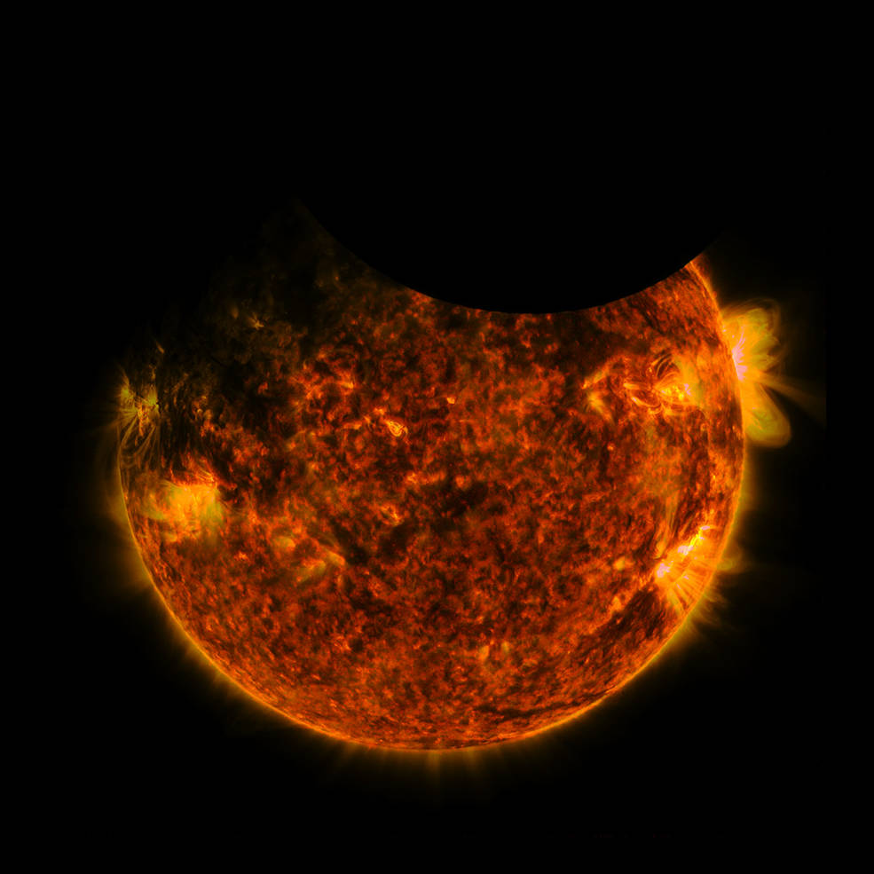 Watch a rare double 'ring of fire' eclipse captured by Nasa's Solar Dynamics Observatory