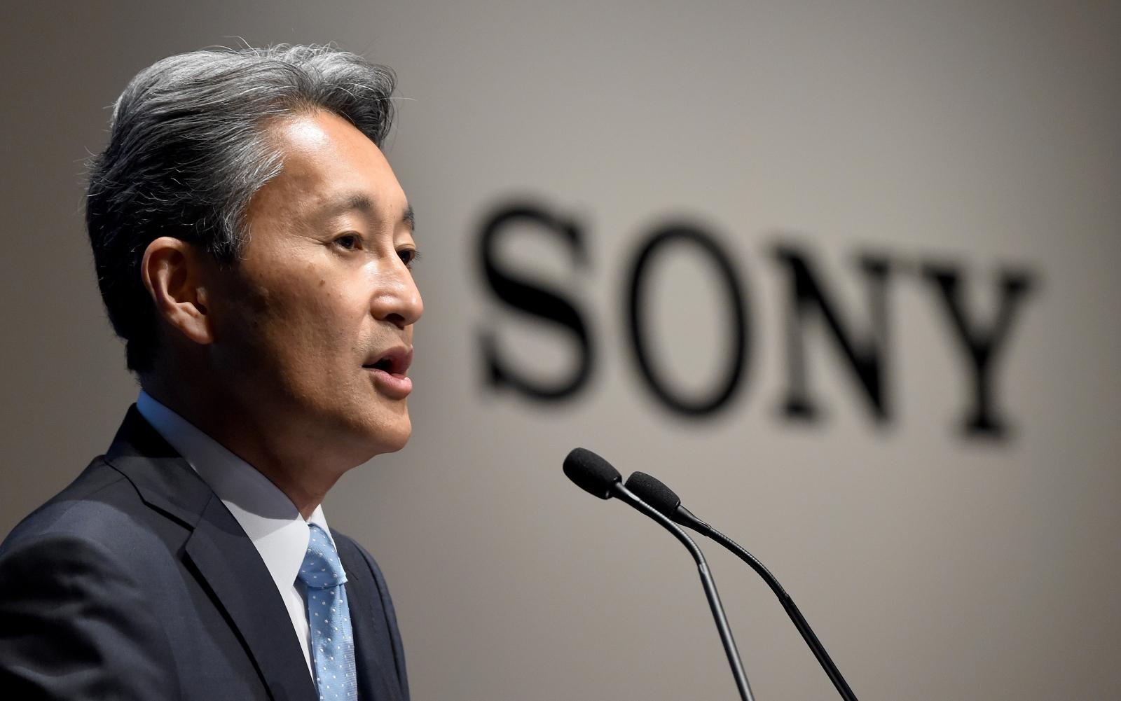 Sony CEO Kaz Hirai