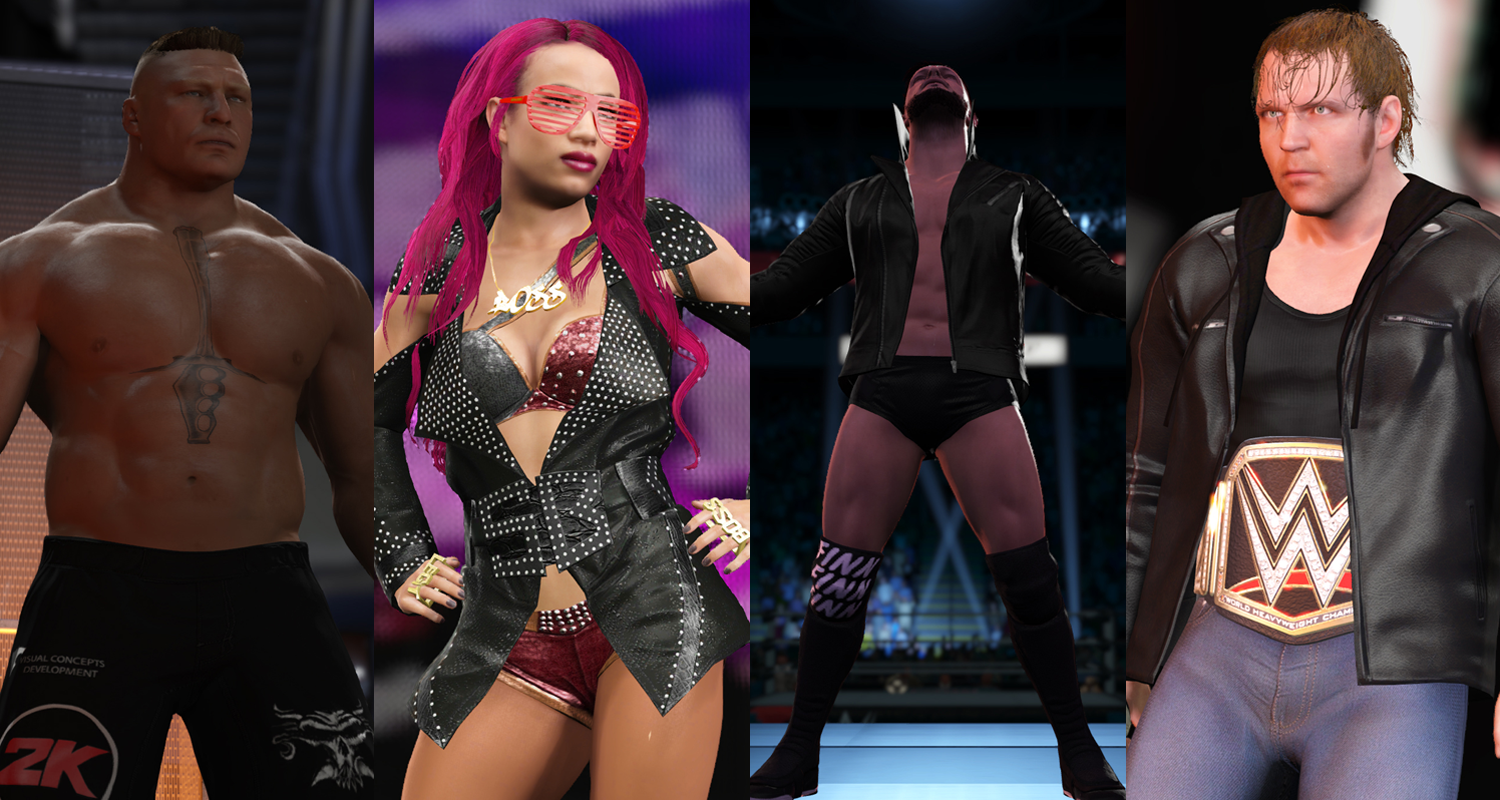 WWE 2K17 Full Roster