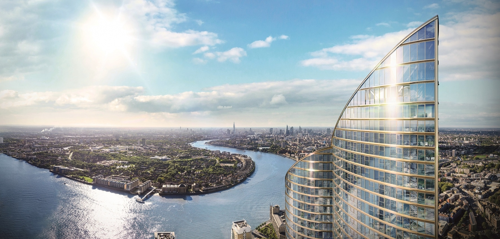 Spire One London Canary Wharf property