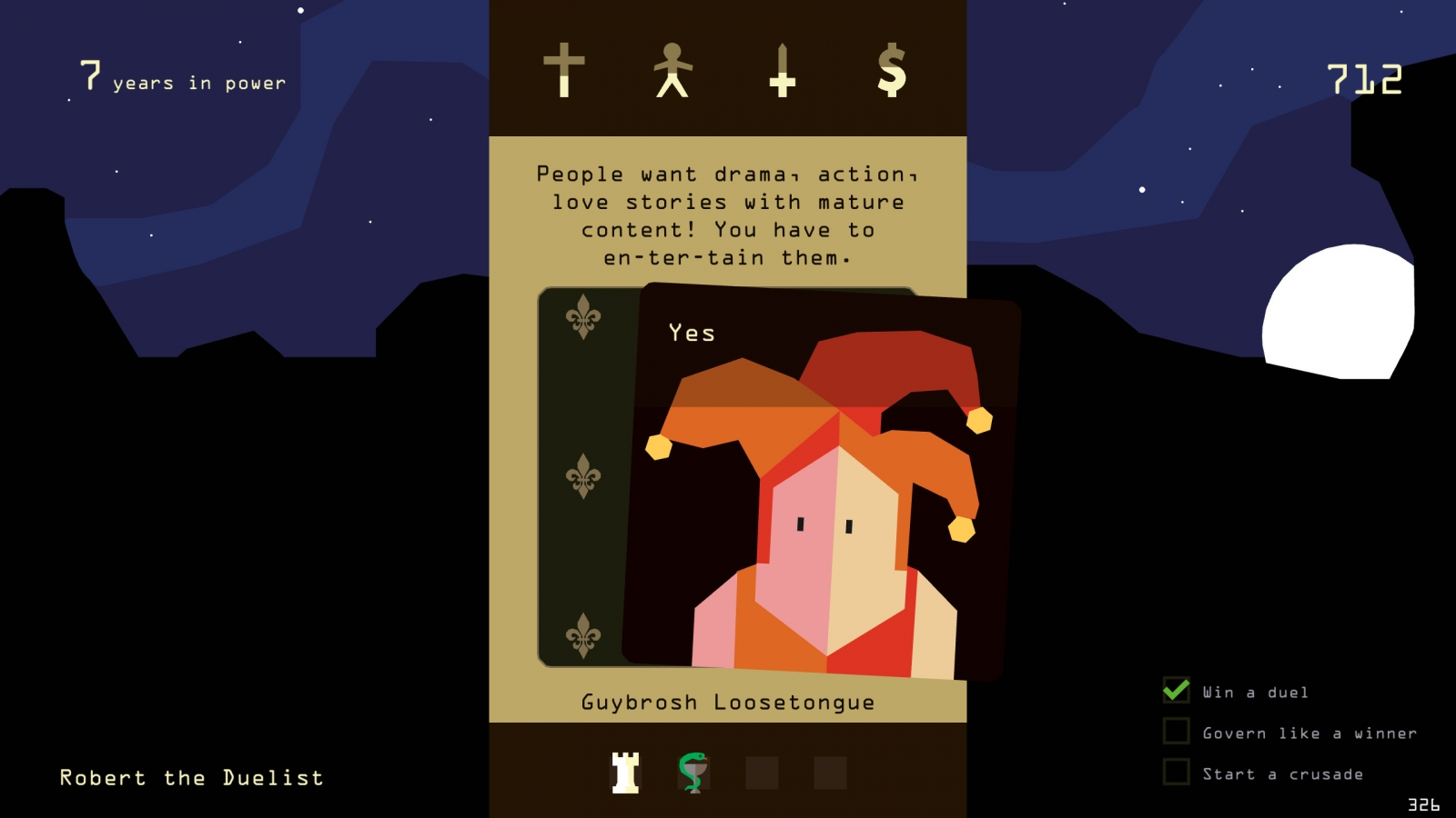 Reigns Devolver Digital Nerial iOS Android