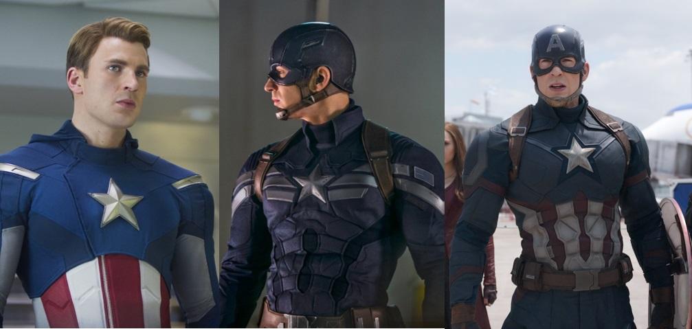 Captain America's costumes