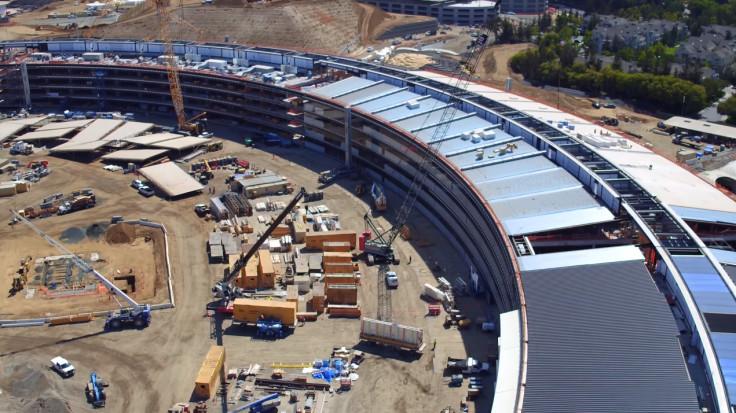 Apple Campus 2 solar panel roof