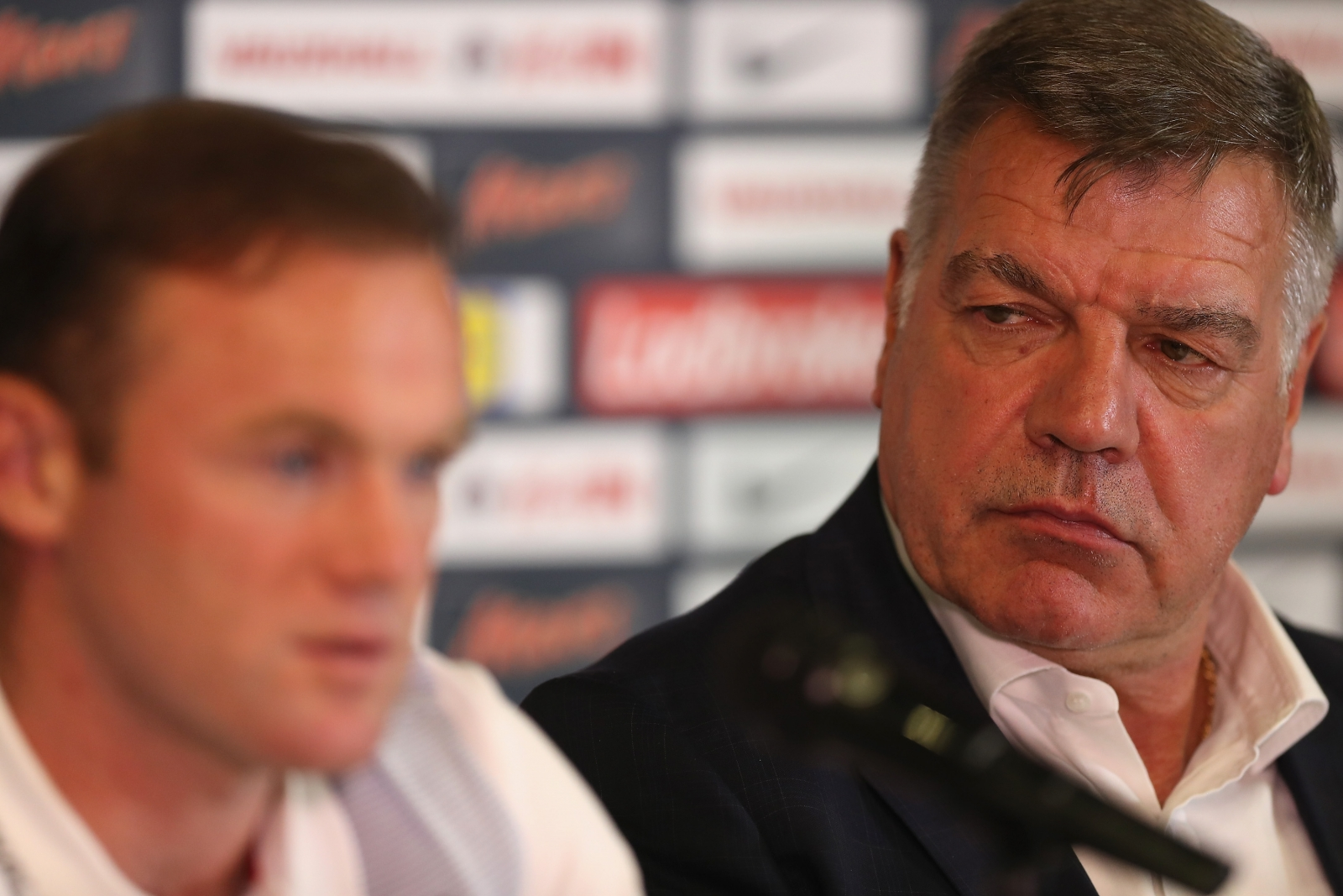 Wayne Rooney and Sam Allardyce