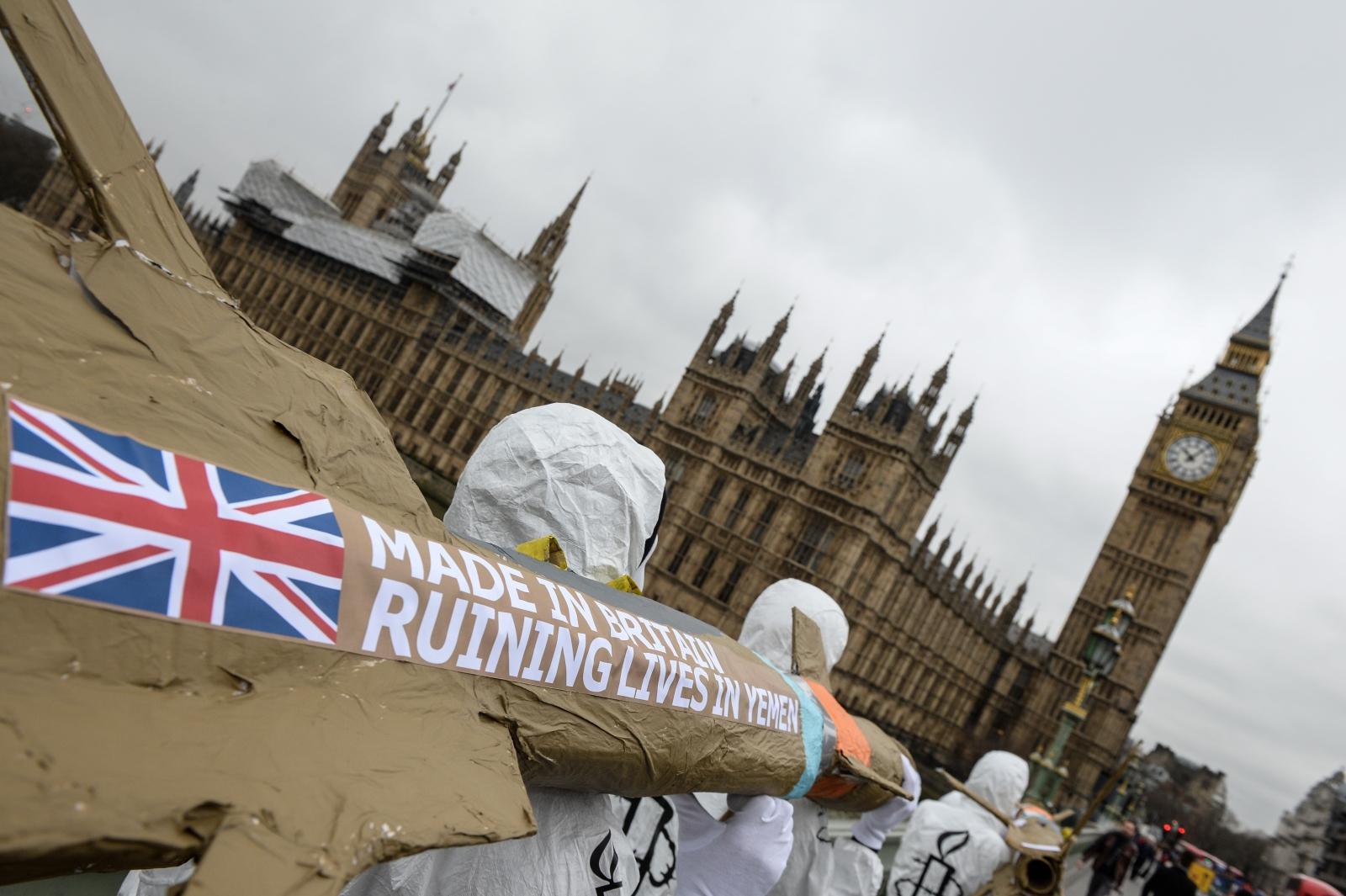 UK-Saudi Arabia arms sales