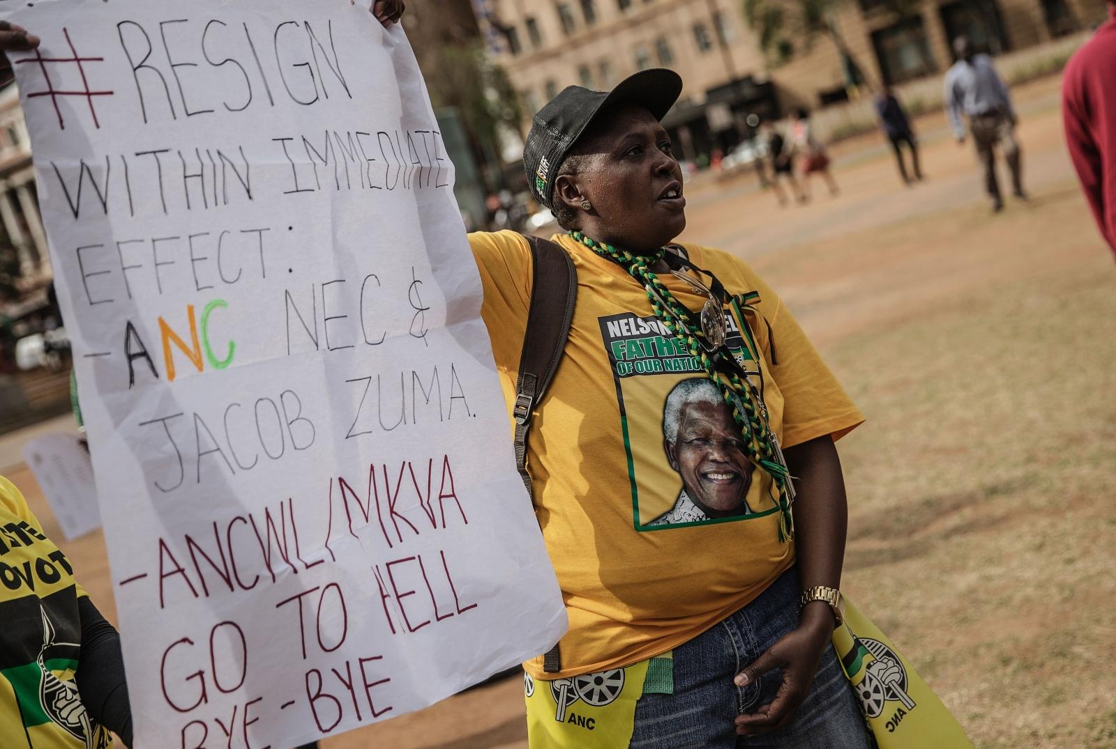 ANC protest Johannesburg