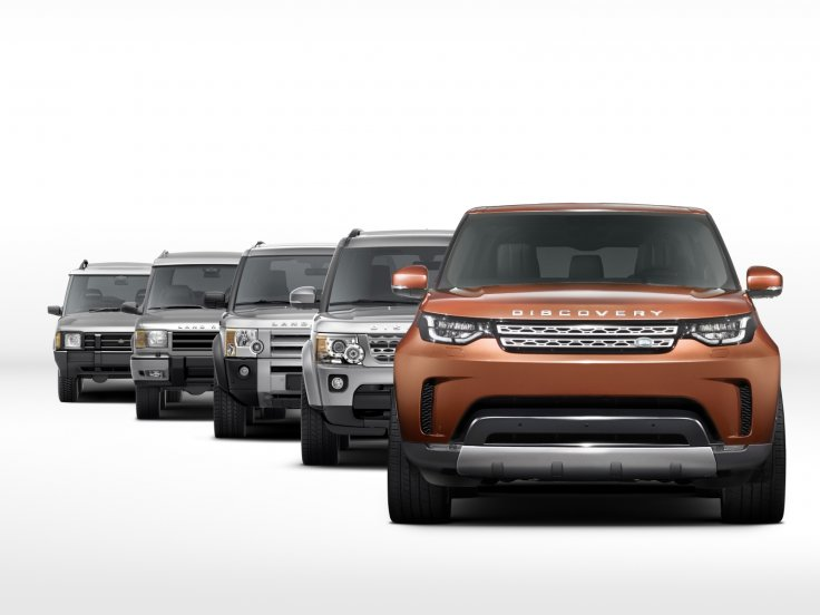 New Land Rover Discovery images reveal