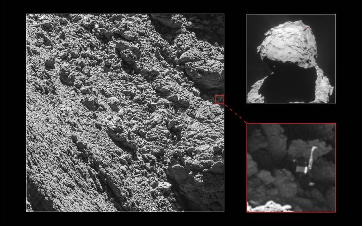 Philae lander found