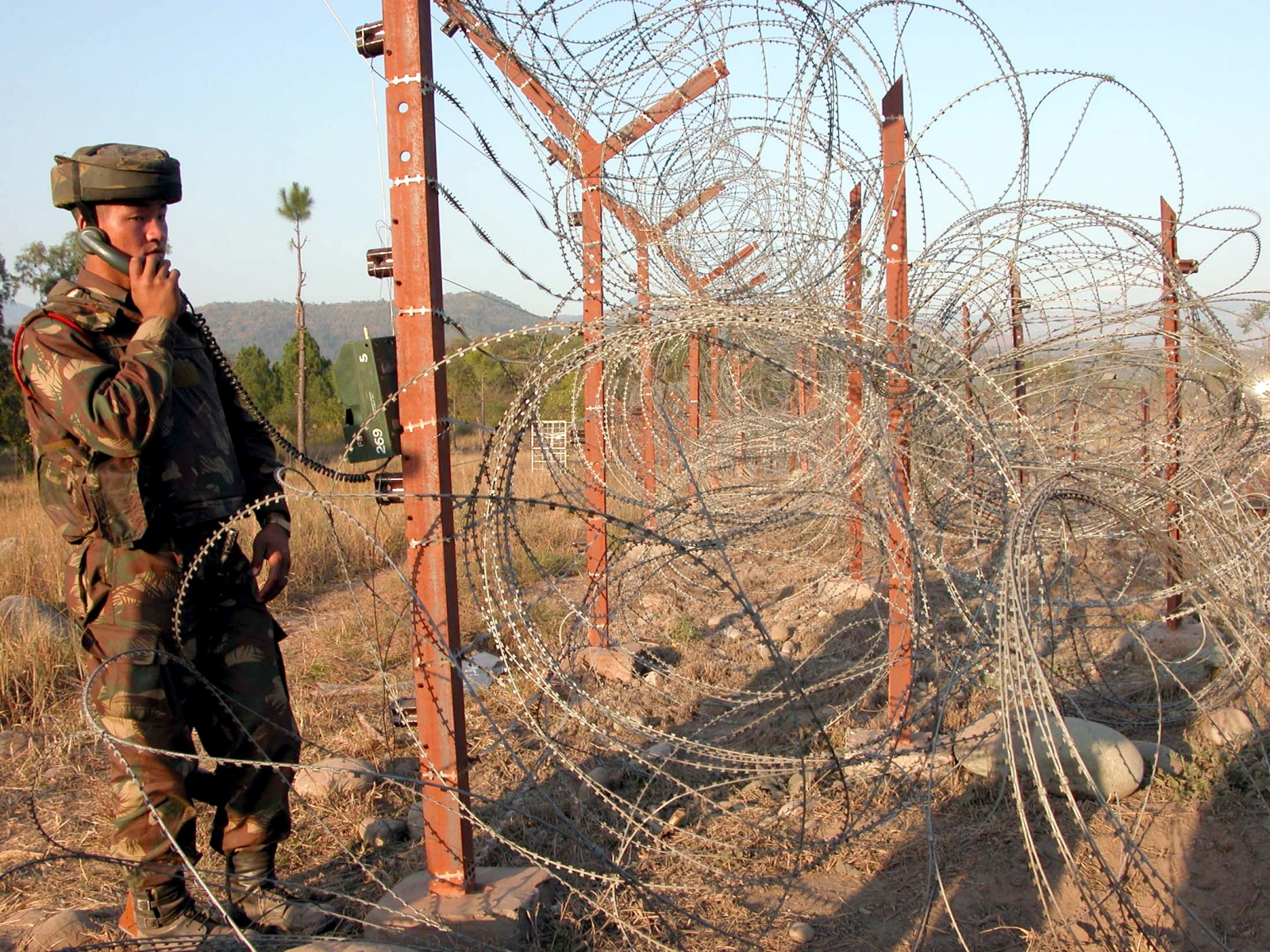 Line of Control (LoC) in Poonch