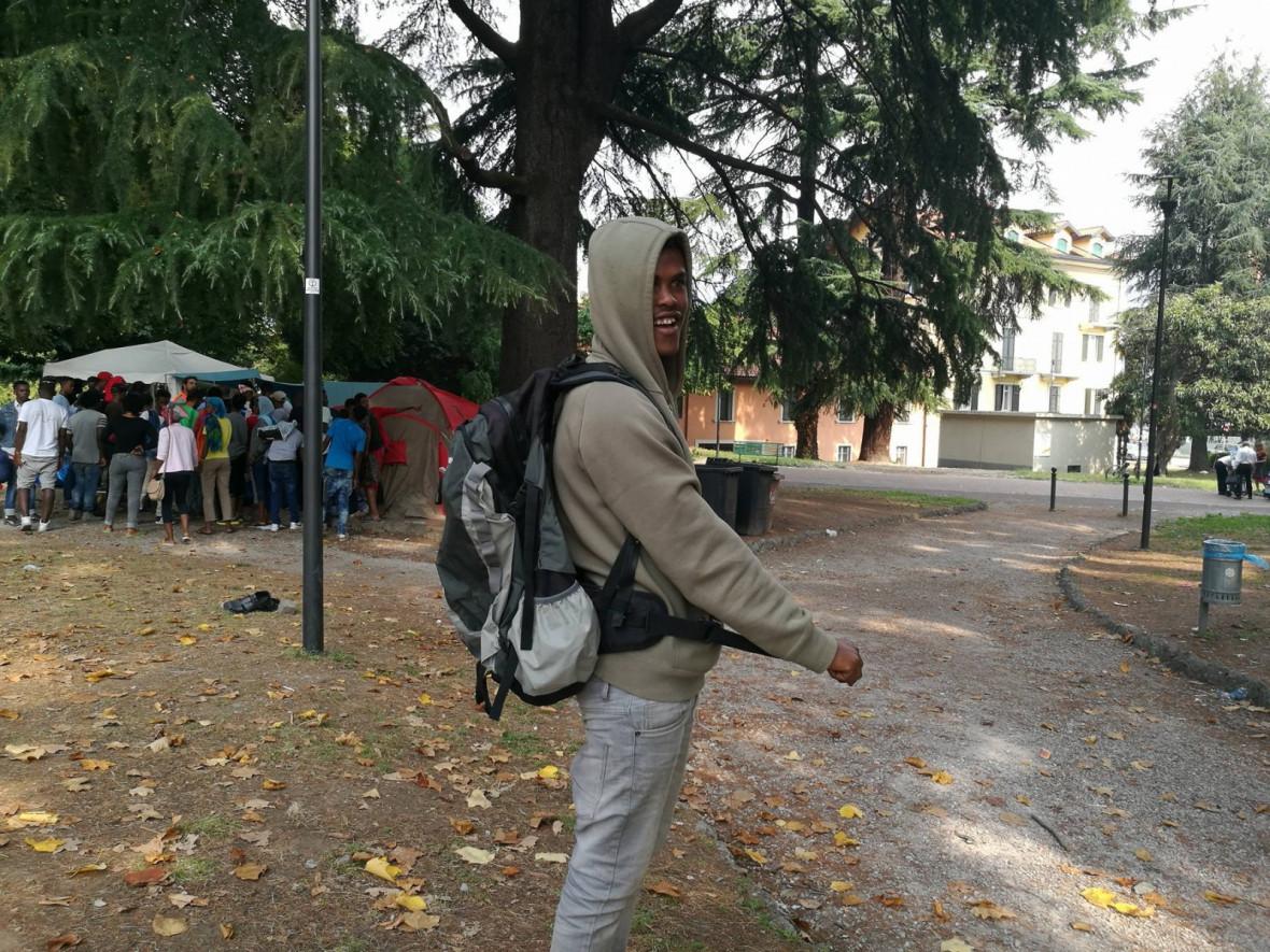 Refugees in Como