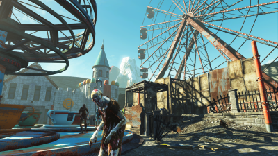 Fallout 4 Nuka World review Kiddie Kingdom