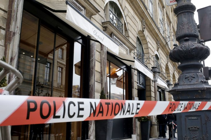 French police tape