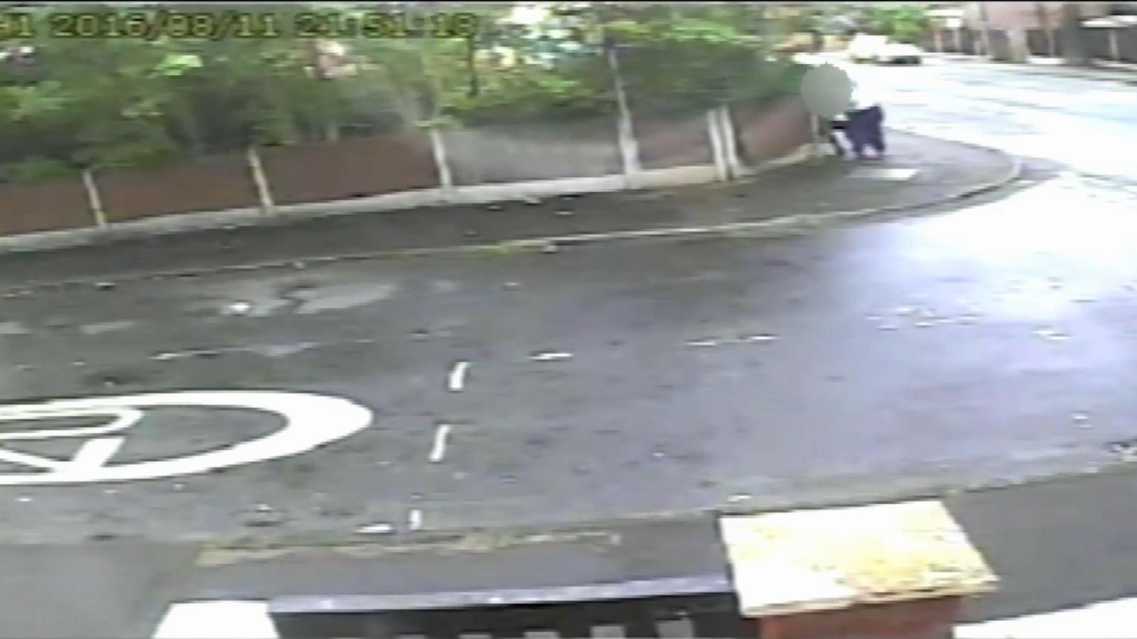 CCTV captures shocking knife attack