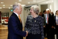 Malcolm Turnbull & Theresa May