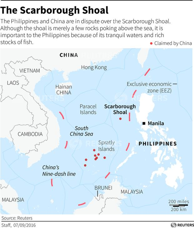 a report about panatag shoal The philippines and the west philippine sea  also locally called the panatag shoal and internationally known as  new pentagon report highlights chinese.