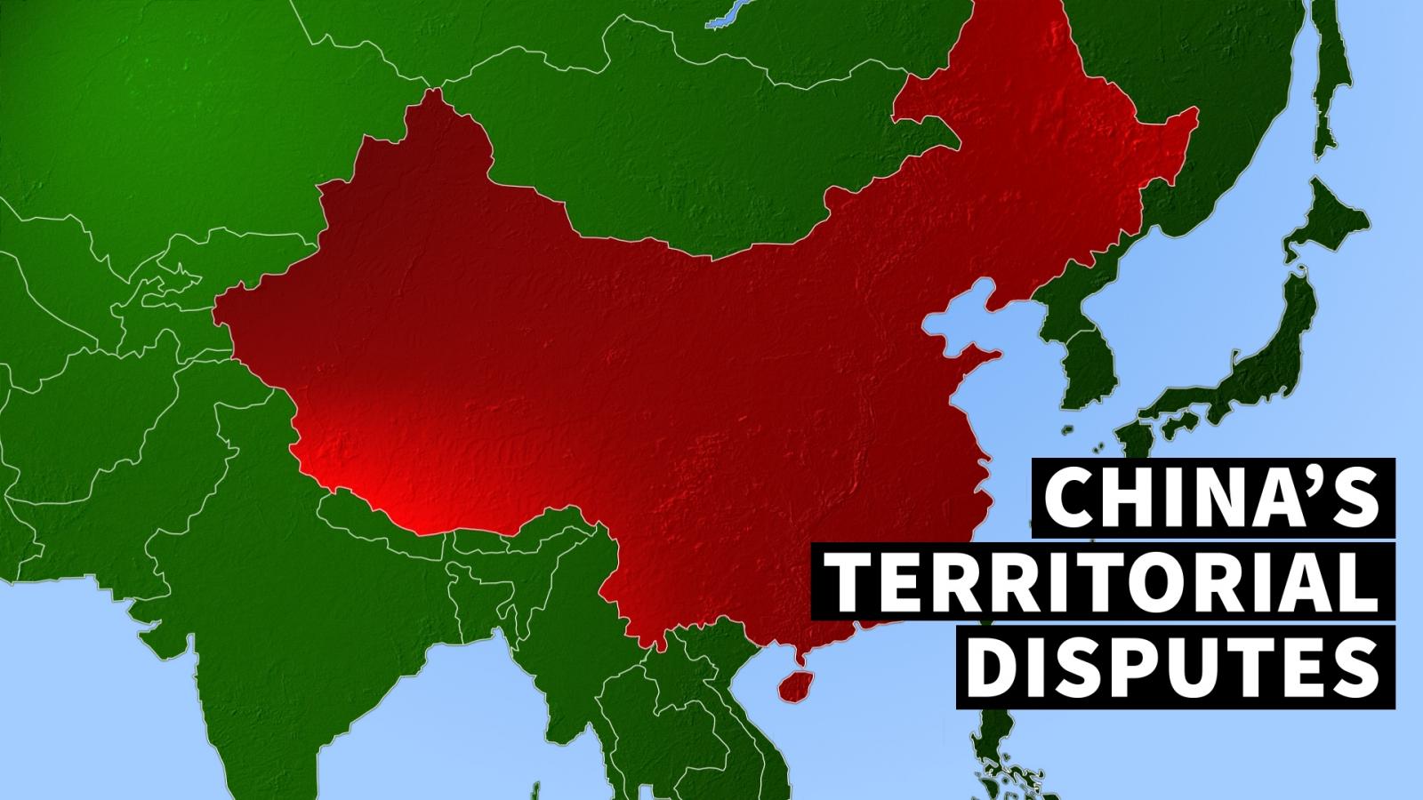 China territorial disputes