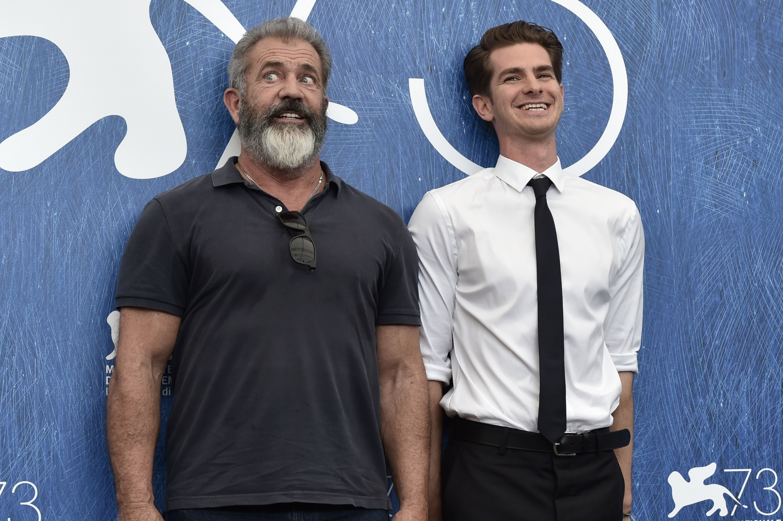 Mel Gibson and Andrew Garfield