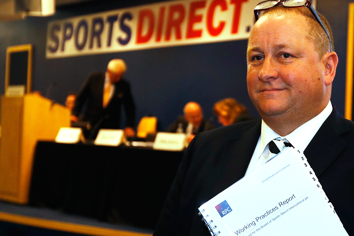 Sports Direct pledges 'independent' governnance review