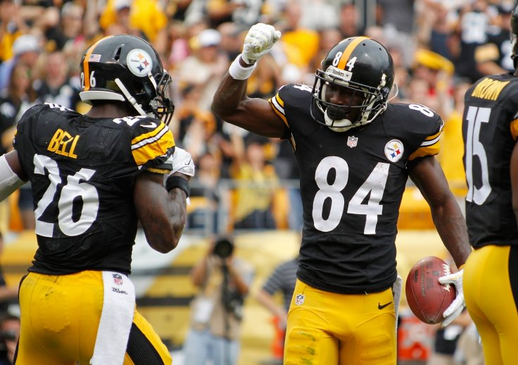 Le'Veon Bell and Antonio Brown