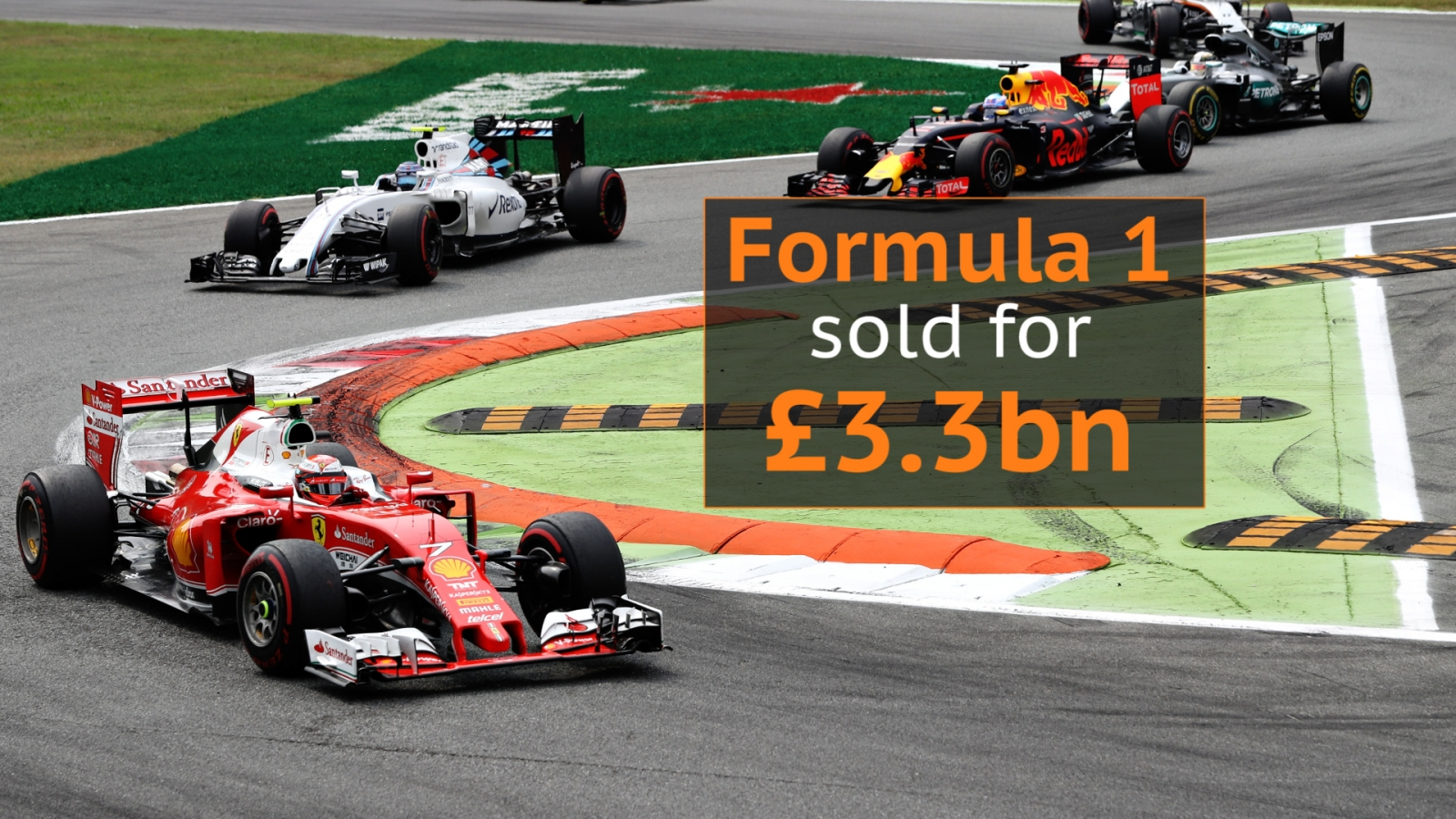US media group buy Formula 1 in multi-billion dollar deal