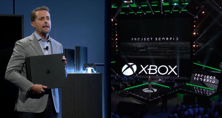 PS4 Pro Xbox One Project Scorpio