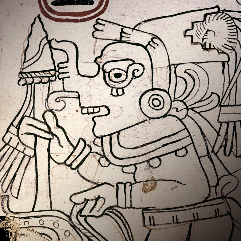 Grolier Codex ancient maya