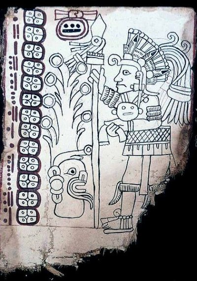 Grolier Codex ancient maya