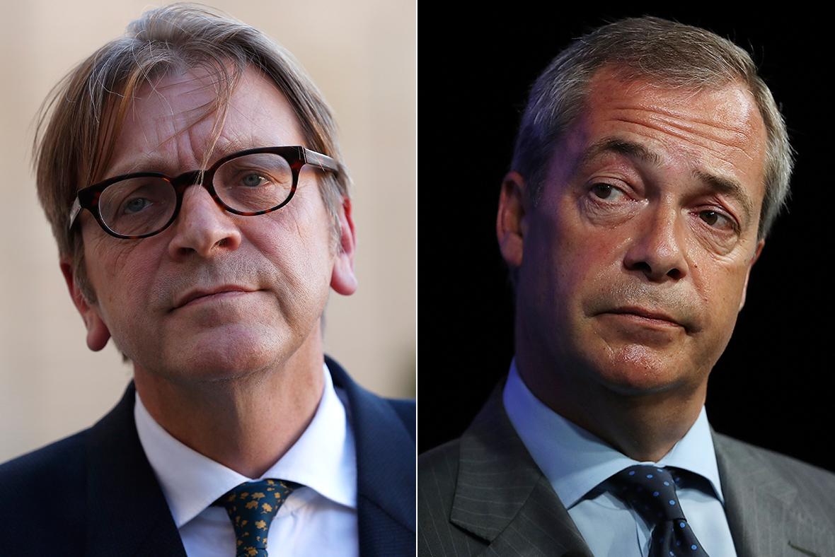 Verhofstadt Farage