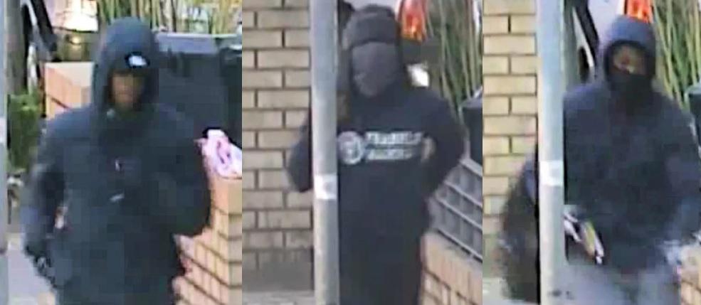 Brixton shotgun attack: CCTV footage shows masked man in ...