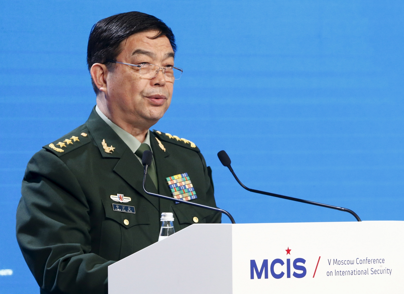 Chinese Defense Minister Chang Wanquan