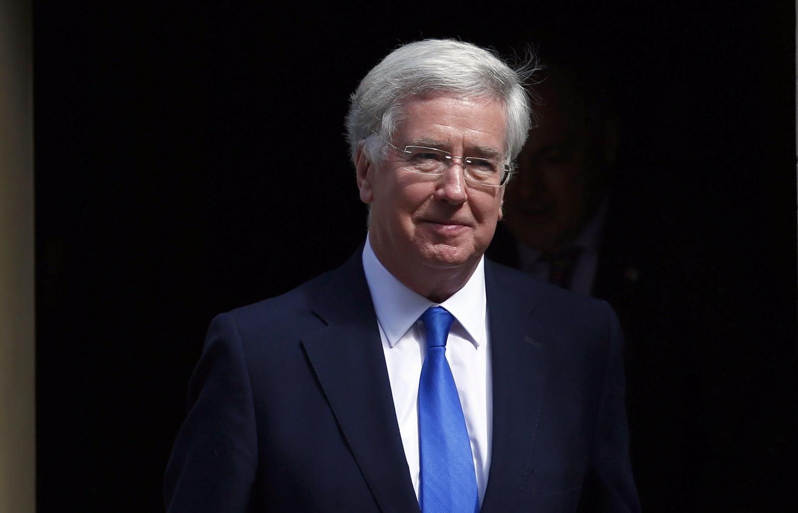 UK Defence minister Michael Fallon