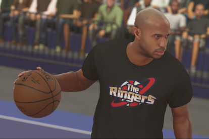 Thierry Henry NBA 2K17