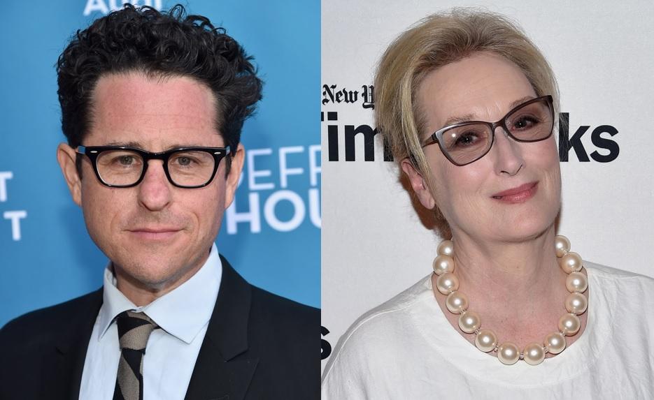 JJ Abrams and Meryl Streep