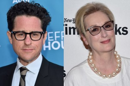 JJ Abrams and Meryl Streep