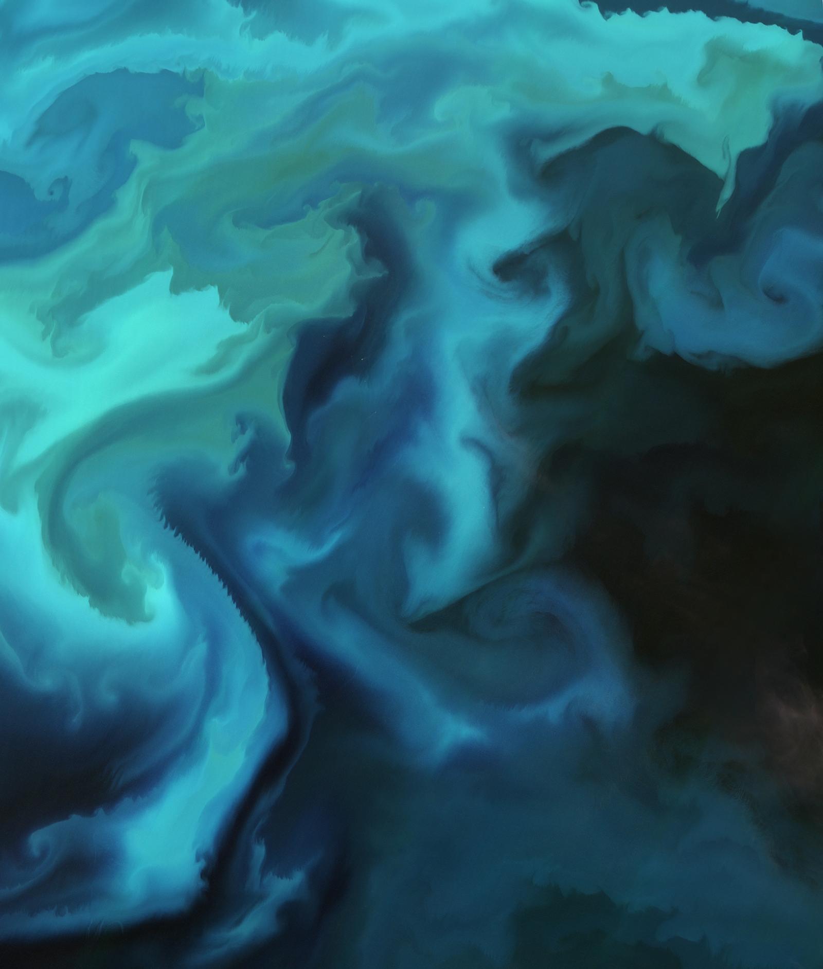 Barents sea plankton bloom