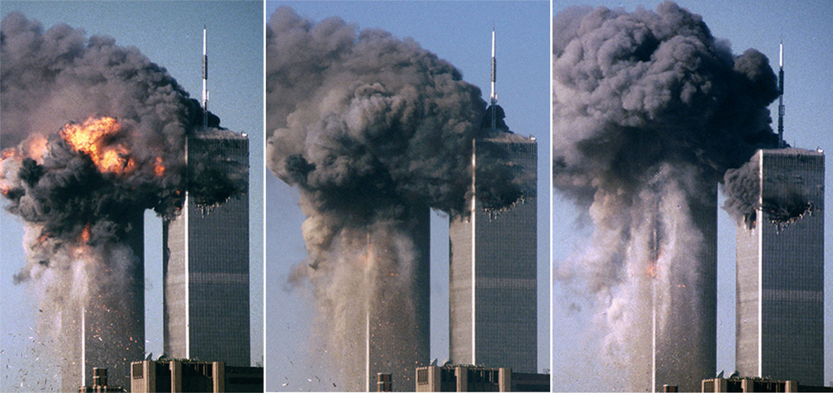 9/11 15th anniversary: Photos show devastation of New York ... 9 Photos