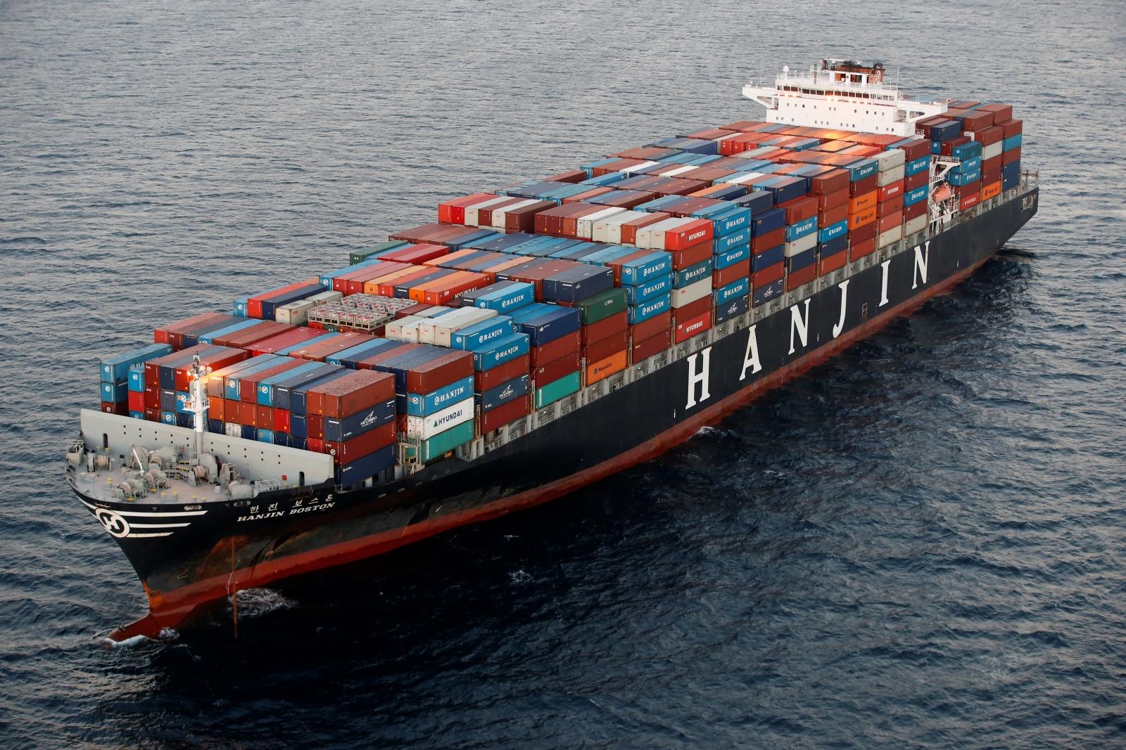 Samsung Hanjin cargo ship