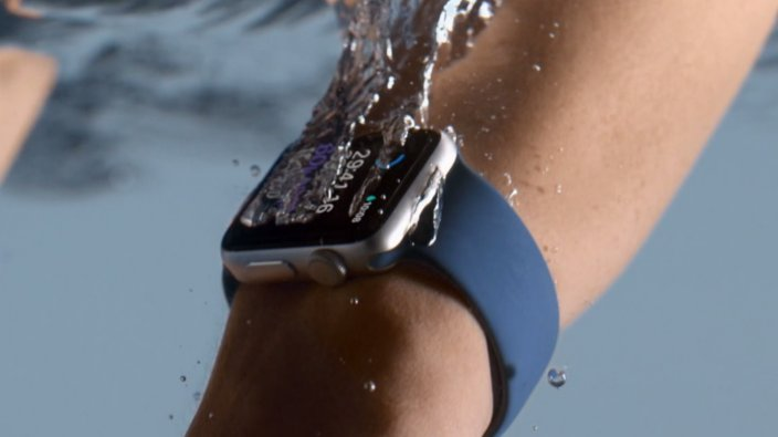 Swimming with Apple Watch 2