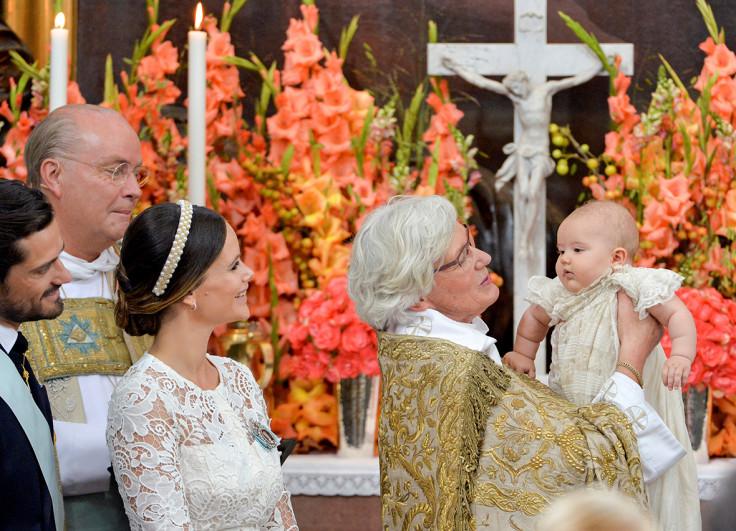 Prince Alexander christening