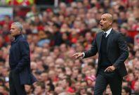 Jose Mourinho and Pep Guardiola