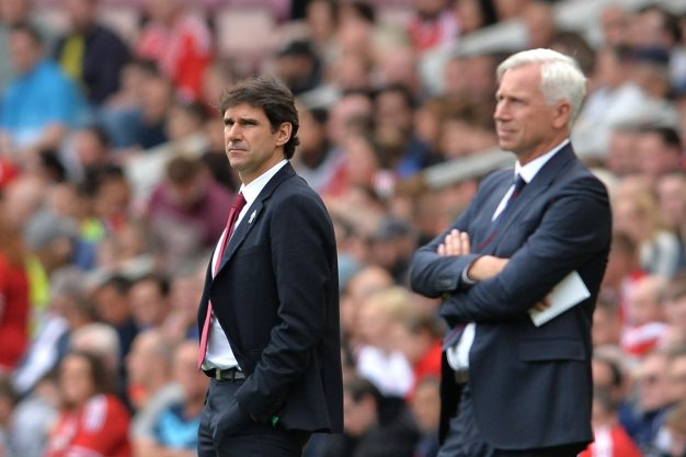 Aitor Karanka and Alan Pardew
